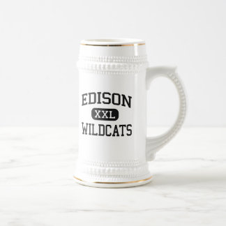Edison - Wildcats - High School - Richmond Ohio Mugs