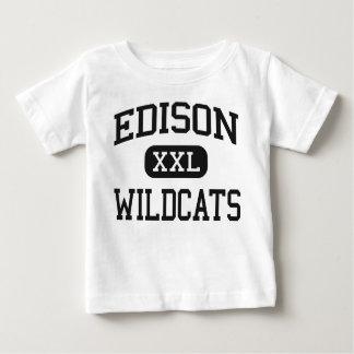 Edison - Wildcats - High School - Richmond Ohio T Shirt