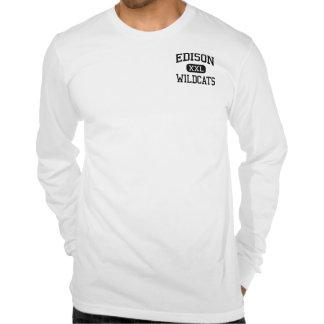 Edison - Wildcats - High School - Richmond Ohio Tshirt