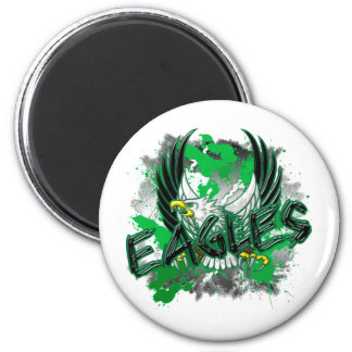 EdisonEagles8.png 6 Cm Round Magnet
