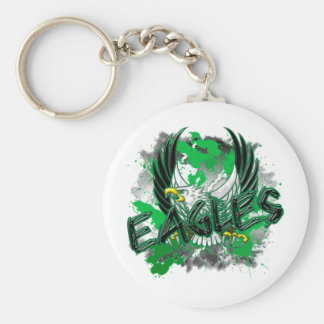 EdisonEagles8.png Basic Round Button Key Ring