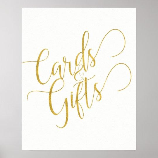 Editable background colour gold script wedding poster