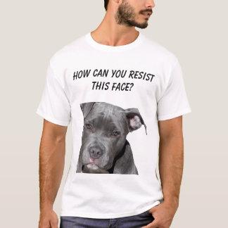 Editable Black Pitbull T-Shirt