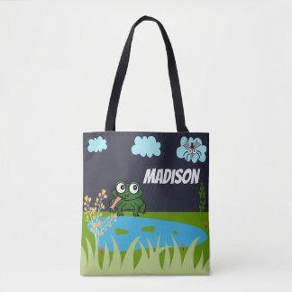 Editable Lily Pad Alliance Tote Bag