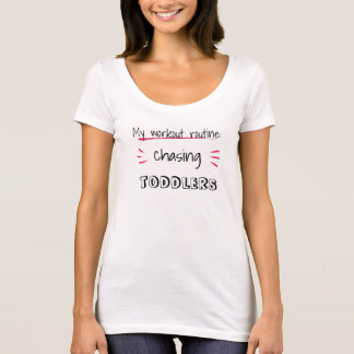 Editable text: ..chasing ...(twins, teens, etc.) T-Shirt