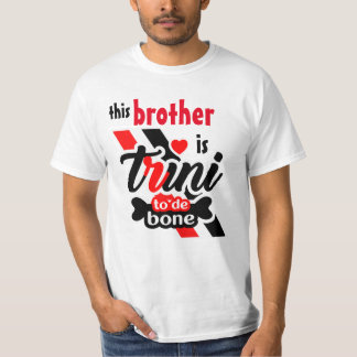 (Editable) Trini 2 de bone (Brother) T-Shirt