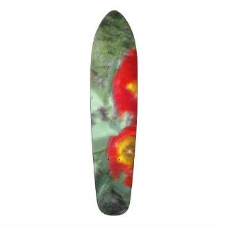 Edited Flower Photo Custom Skateboard