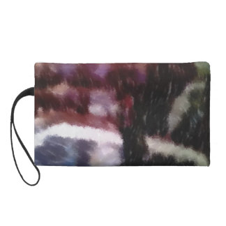 Edited photo Living room Wristlet Clutch