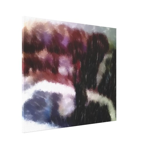 Edited photo Living room Canvas Print