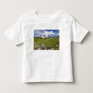 Edith Creek and wildflower meadows at Paradise Toddler T-Shirt