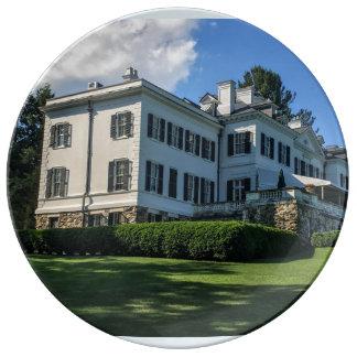 Edith Wharton Mansion Plate