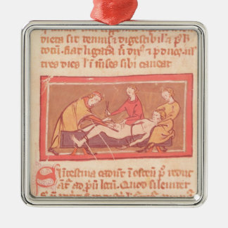 edition of 'Book of Surgery' by Rogier de Salerne Christmas Ornament