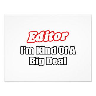 Editor Big Deal Custom Invitation