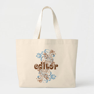 Editor Cute Gift Large Tote Bag
