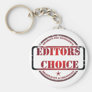 Editors choice products basic round button key ring