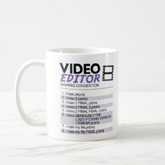 Editors File Naming Coffee Mug