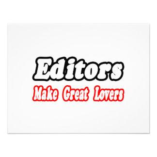 Editors Make Great Lovers Custom Invitation