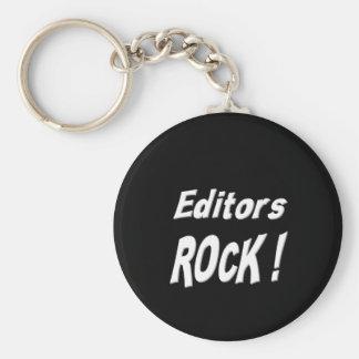 Editors Rock! Keychain