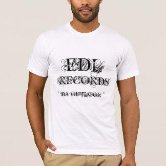 "EDL , RECORDS, "" DA OUTLOOK "" T-Shirt"
