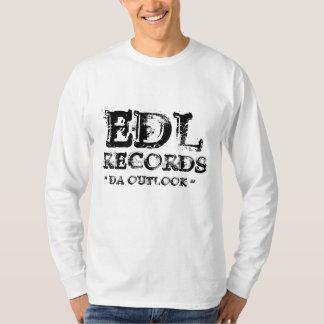 "EDL, RECORDS, "" DA OUTLOOK "" T-Shirt"