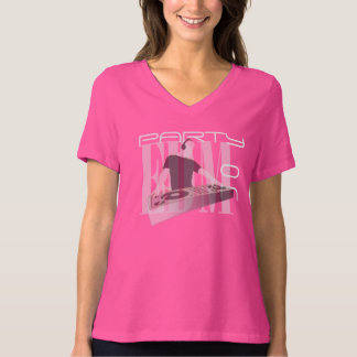 EDM PARTY ON TEE SHIRT