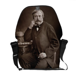Edmond de Goncourt (1822-96) from 'Galerie Contemp Commuter Bags