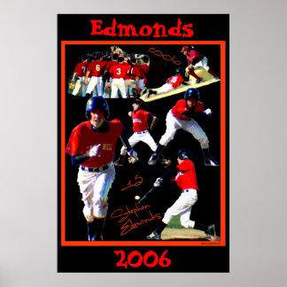 Edmonds Freshman Baseball Poster2 Poster