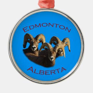 Edmonton, Alberta Christmas Ornament