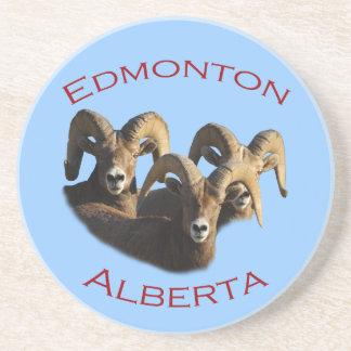 Edmonton, Alberta Drink Coasters