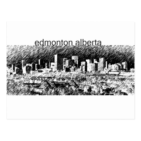Edmonton Alberta Postcard