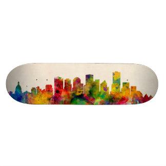 Edmonton Canada Skyline Cityscape Skate Decks