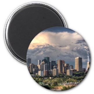 Edmonton, Canada skyline Magnet