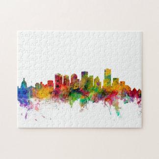 Edmonton Canada Skyline Puzzles