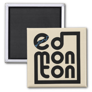 Edmonton in a Box Magnet