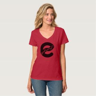 Edmonton River V-neck T-shirt