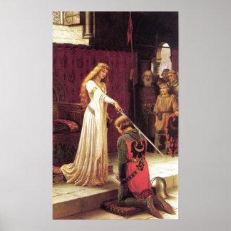 Edmund Blair Leighton: The Accolade Poster