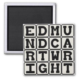Edmund Cartwright, English Inventor Fridge Magnets