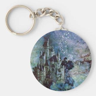 Edmund Dulac Fine Art Castle Keychain