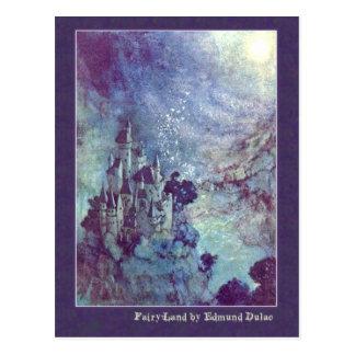 Edmund Dulac Illustrates Edgar Allan Poe Postcards