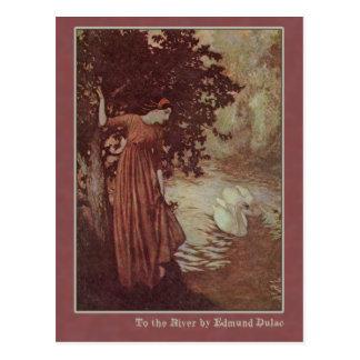 Edmund Dulac Illustrates Edgar Allan Poe Post Cards