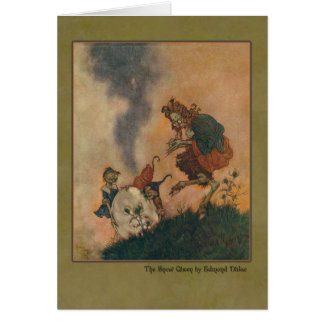 Edmund Dulac Illustration from The Snow Queen Greeting Cards