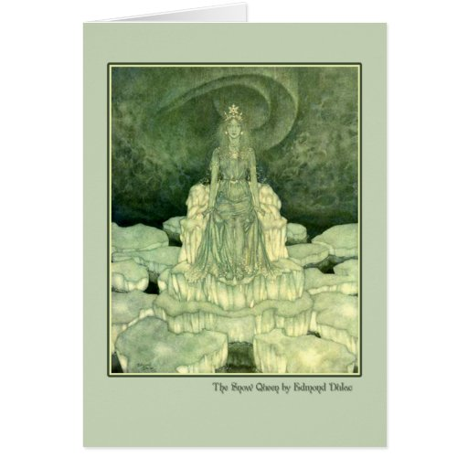 Edmund Dulac Illustration from The Snow Queen Cards