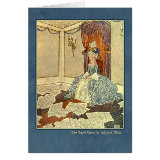 Edmund Dulac Illustration from The Snow Queen Card