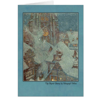 Edmund Dulac Illustration from The Snow Queen Greeting Card