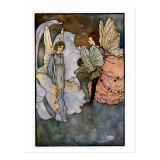 """Edmund Dulac"" Illustration Postcard"