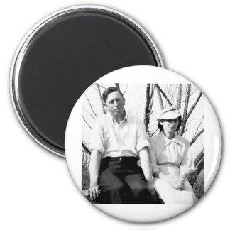 edna grandad.jpg 6 cm round magnet