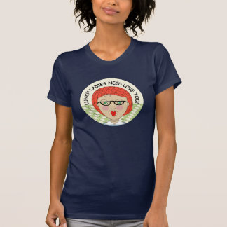 Edna The Lunch Lady Cartoons Tshirts