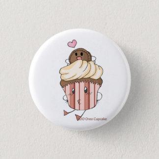 EDO Oreo Cupcake 3 Cm Round Badge