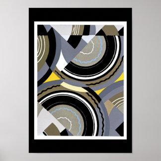 Edouard Benedictus Jazz Art Poster