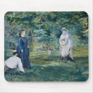Edouard Manet - A Game of Croquet Mouse Pad